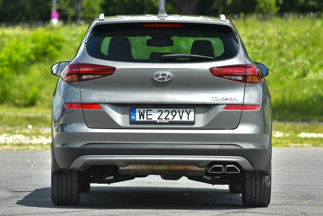 Hyundai Tucson – tył