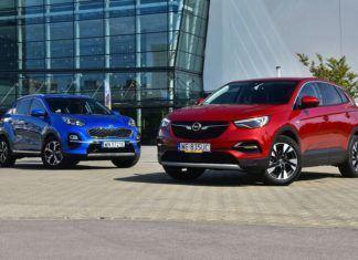 Opel Grandland X kontra Kia Sportage - porównanie SUV-ów z silnikami Diesla