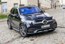 MERCEDES GLE 450 V167 3.0T R6 367KM 9AT 9G-Tronic 4Matic WW110YT 05-2019