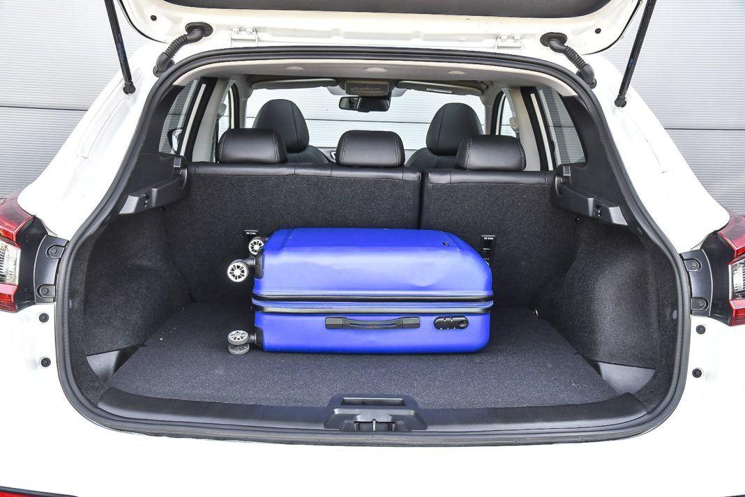 Nissan Qashqai – bagażnik