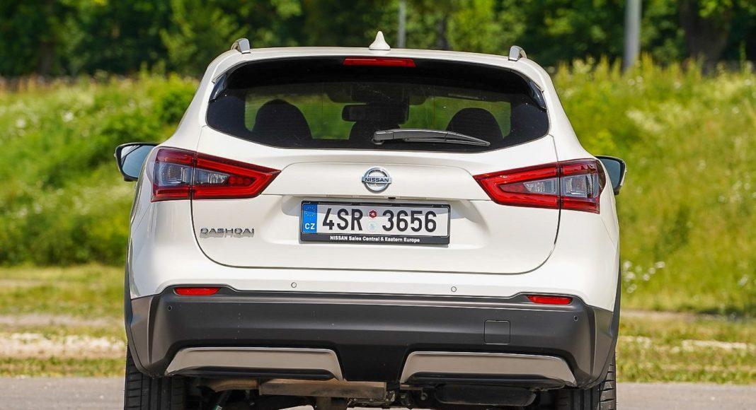 Nissan Qashqai – tył