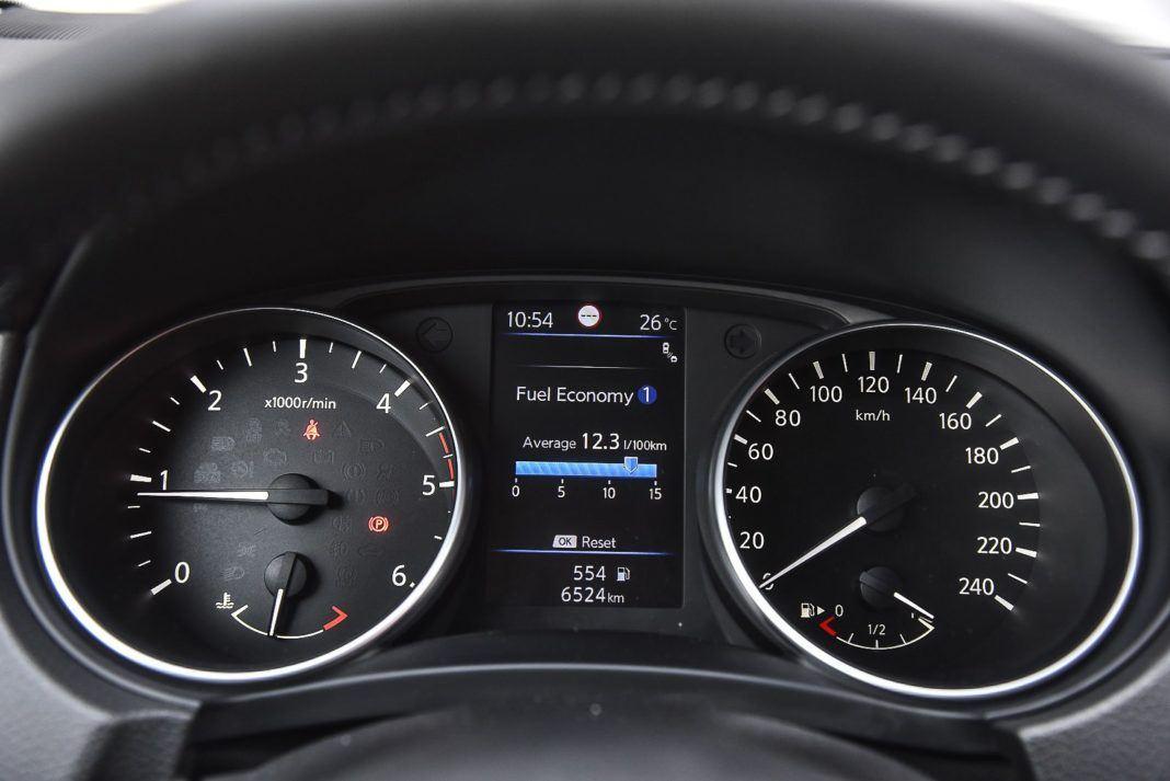 Nissan Qashqai – zegary