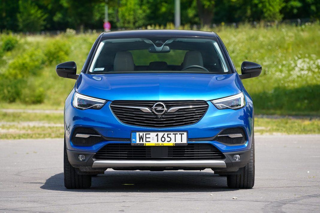 Opel Grandland X – przód