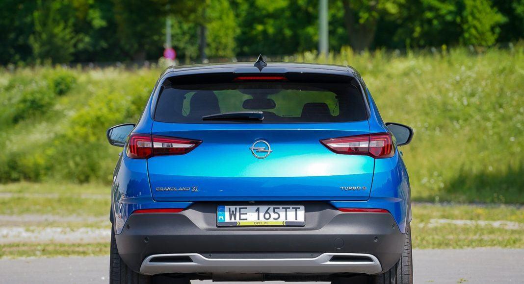 Opel Grandland X – tył