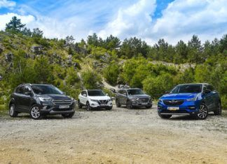 Ford Kuga, Hyundai Tucson, Nissan Qashqai i Opel Grandland X – porównanie kompaktowych SUV-ów