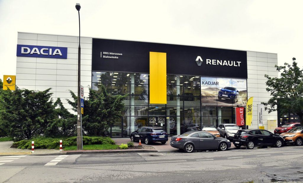 Salony i serwisy samochodowe w Polsce