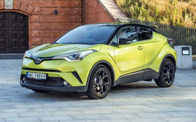 TOYOTA C-HR Hybrid Neon Lime Powered by JBL 1.8 122KM AT e-CVT AWD WE749VV 07-2019