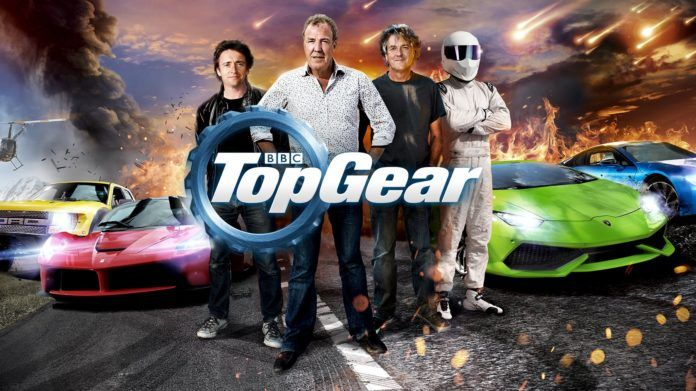 Top Gear: Richard Hammond, Jeremy Clarkson, James May i The Stig