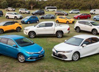 Najpopularniejsze modele Toyoty