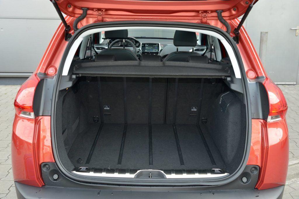 Używany Peugeot 2008 - bagażnik