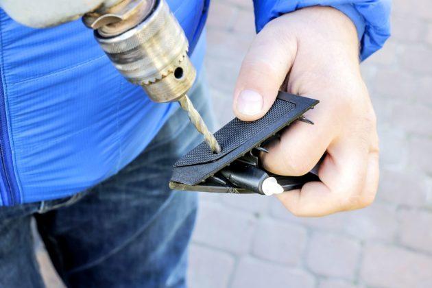 Montaż diody informującej o wypalaniu DPF