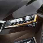 skoda superb matrix led