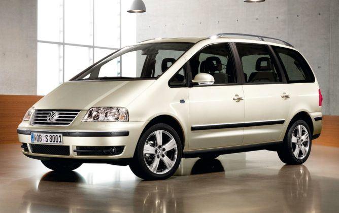 9. Volkswagen Sharan I (173 tys. km)