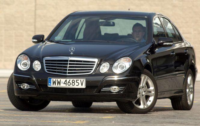8. Mercedes klasy E W211 (174 tys. km)