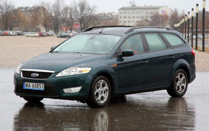 15. Ford Mondeo IV (157 tys. km)