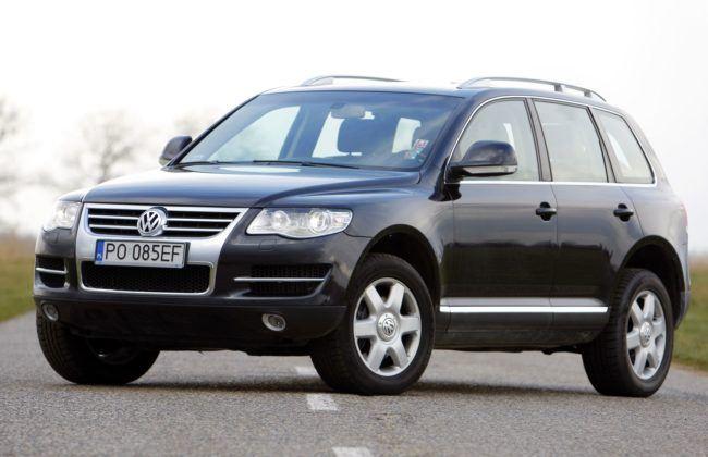 7. Volkswagen Touareg I (175 tys .km)