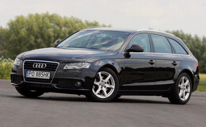 11. Audi A4 B8 (161 tys. km)