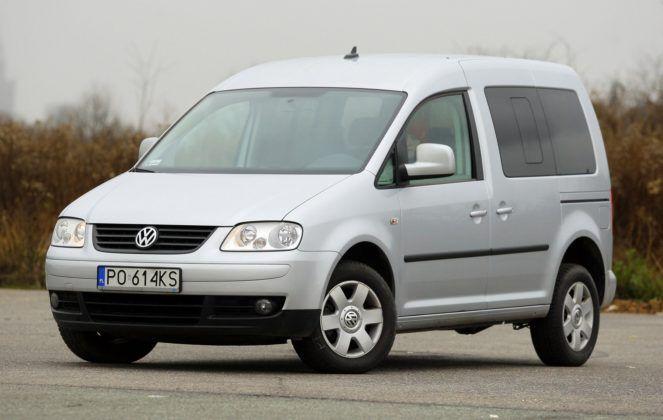 16. Volkswagen Caddy I (156 tys. km)