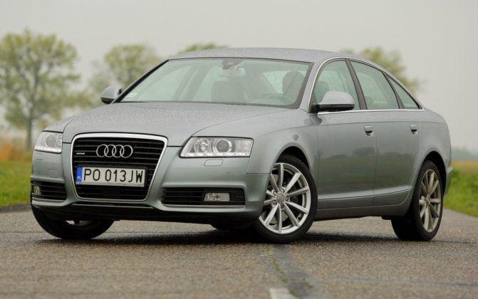 2. Audi A6 C6 (194 tys. km)