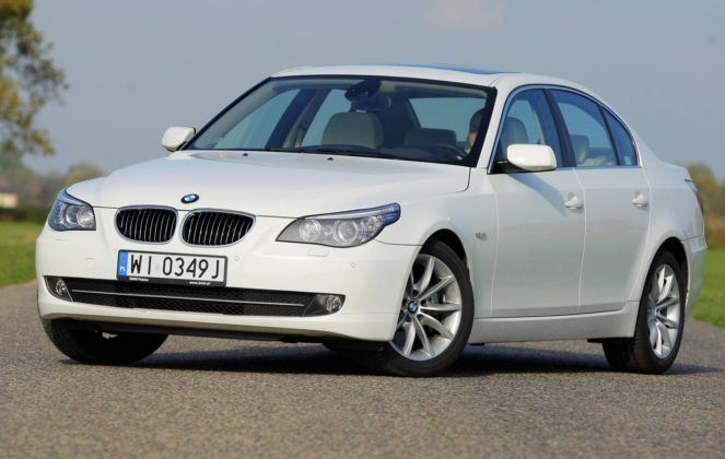 5. BMW serii 5 E60 (182 tys. km)