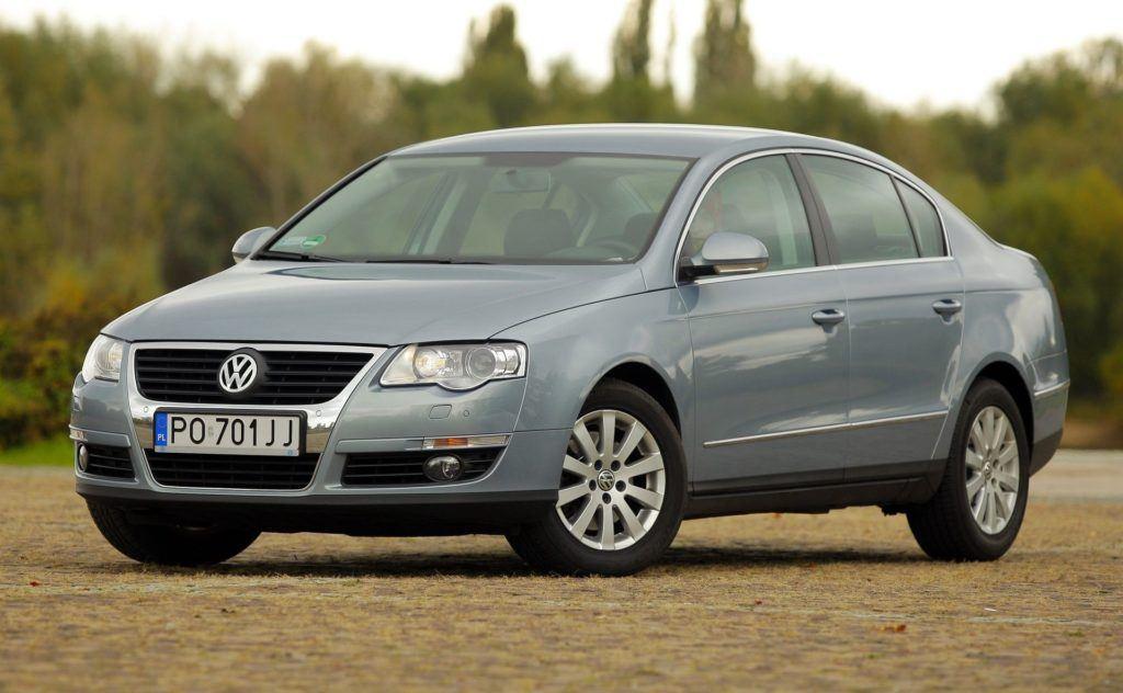 4. Volkswagen Passat B6 (185 tys. km)