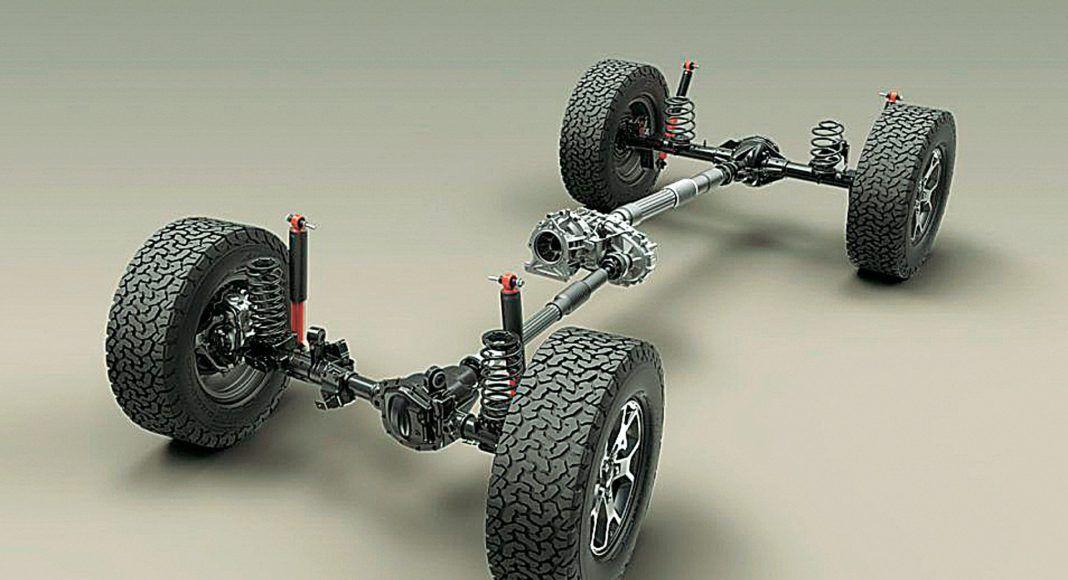 Jeep Wrangler podwozie