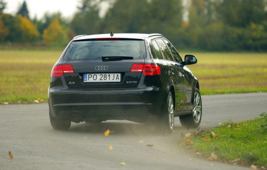 AUDI A3 Sportback 8P FL 2.0TDI 140KM 6MT PO281JA 10-2008