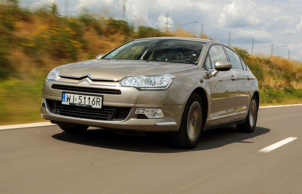 CITROEN C5 II Exclusive 2.0HDi 163KM 6AT 2011r. DD