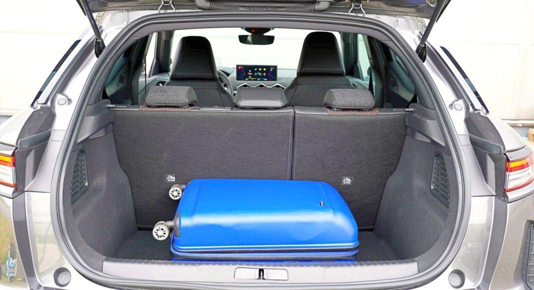 DS 3 Crossback – bagażnik