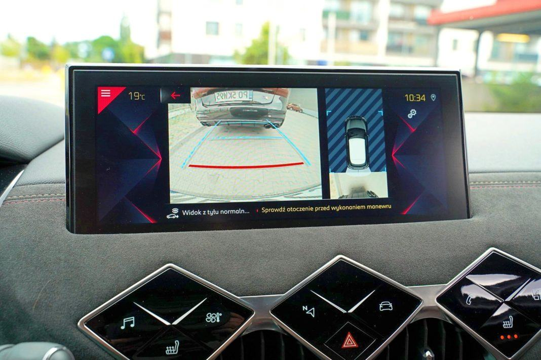 DS 3 Crossback Performance Line 1.2 PureTech 130 KM – kamery