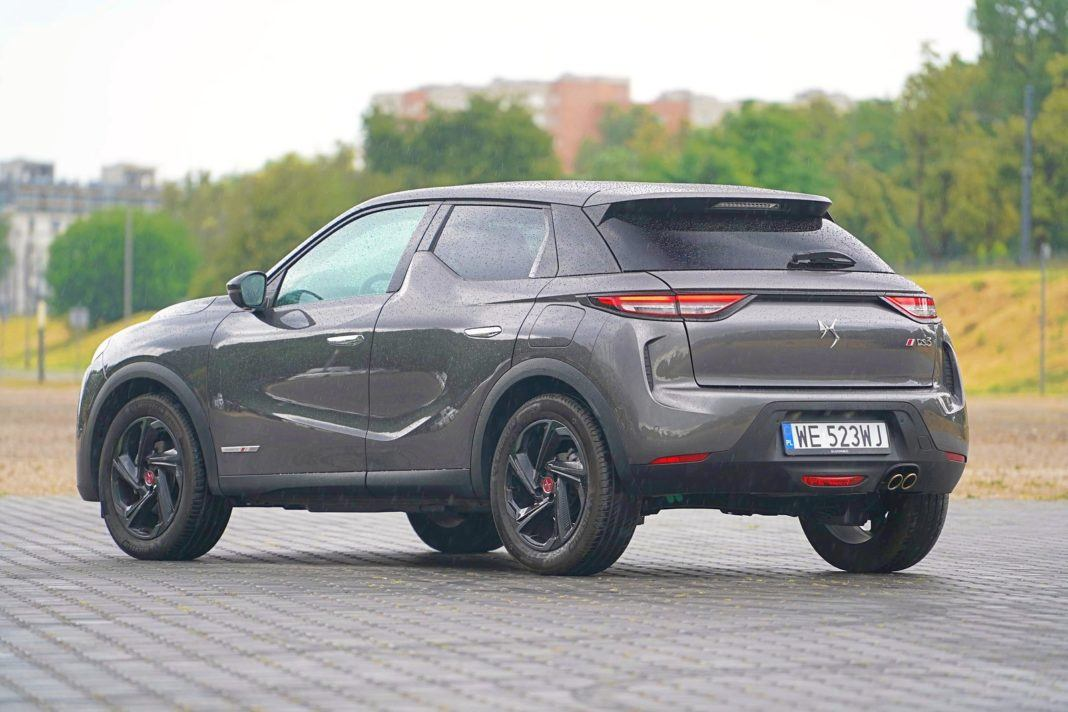 DS 3 Crossback – tył