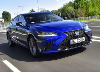 Lexus ES 300h F Sport - TEST