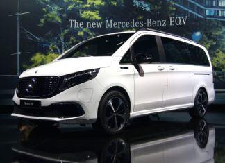 Mercedes EQV. Pierwszy luksusowy van na prąd