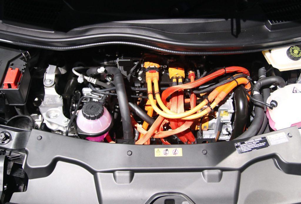 Mercedes EQV - silnik
