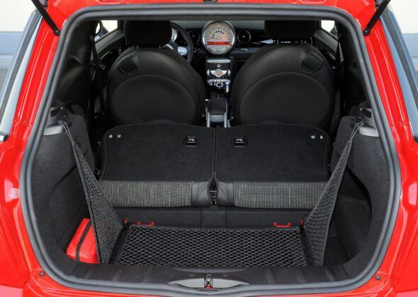 Mini Cooper II bagażnik