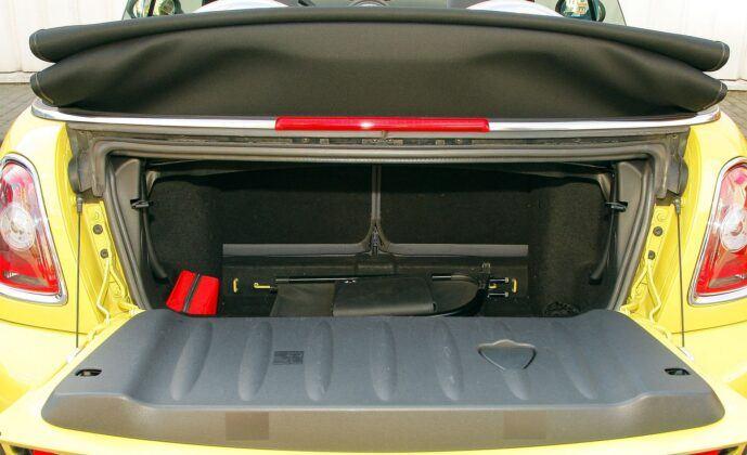 Mini One Cooper R56 bagażnik