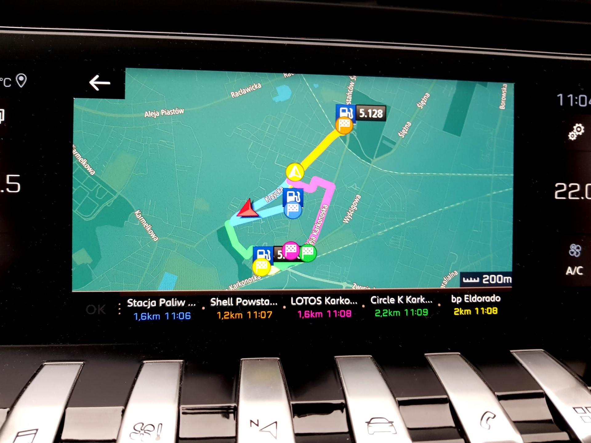 PEUGEOT 508 II SW nawigacja