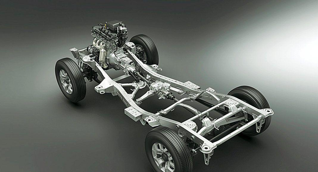 Suzuki_Jimny podwozie