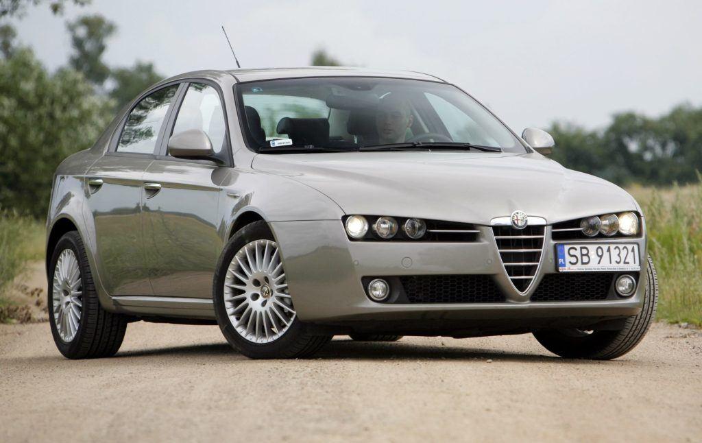 ALFA ROMEO 159 Q4 3.2JTS V6 260KM 6MT SB91321 07-2007