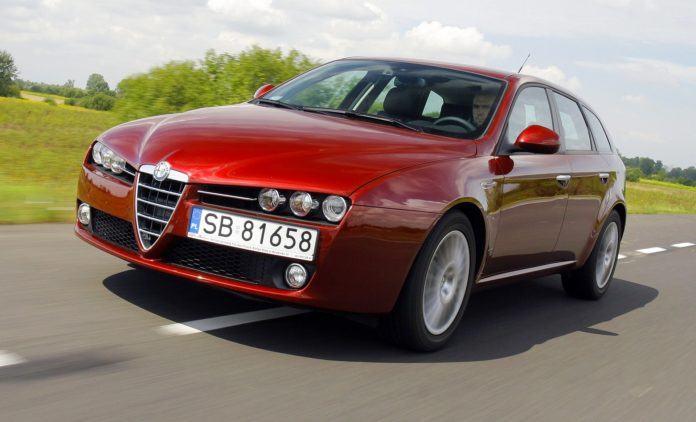 ALFA ROMEO 159 Sportwagon 2.4JTDm 20V 200KM 6MT SB81658 08-2006