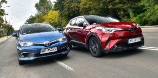 TOYOTA C-HR - TOYOTA Auris Touring Sports 09-2018