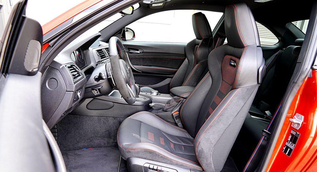 BMW M2 Competition – fotele przód