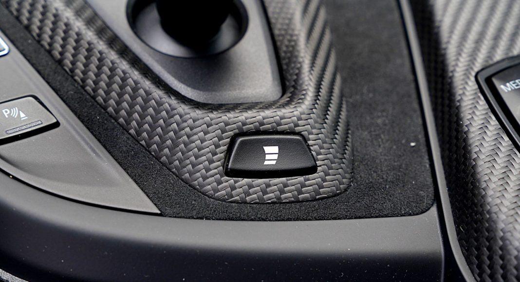 BMW M2 Competition – sterowanie skrzynią biegów