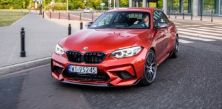 BMW M2 Competition - przód