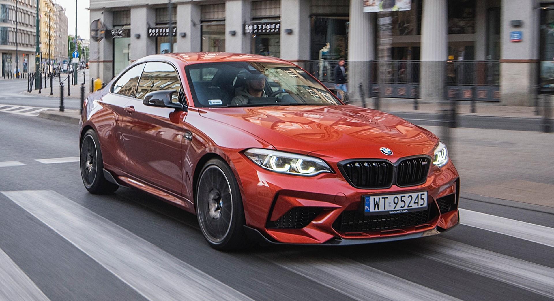 BMW M2 Competition - przód ruch