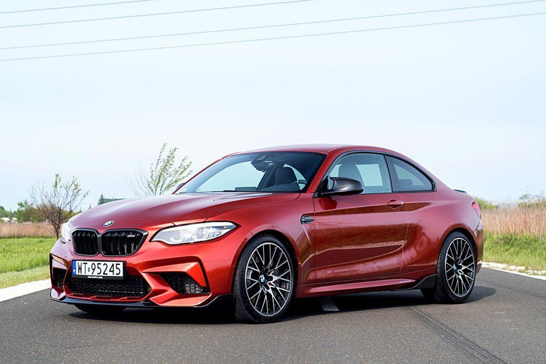 BMW M2 Competition – przód