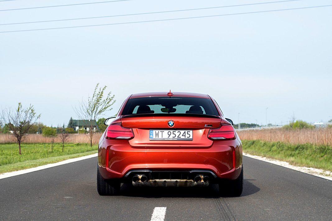 BMW M2 Competition – tył