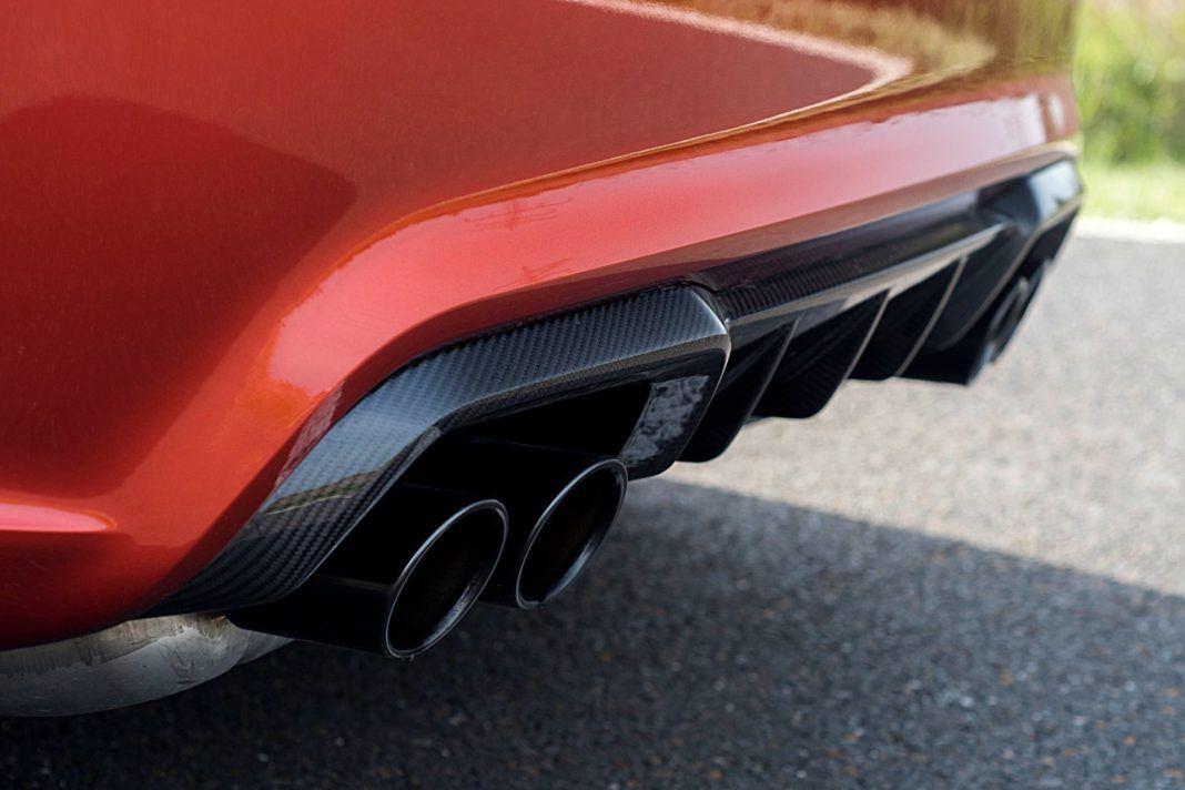 BMW M2 Competition - wydech