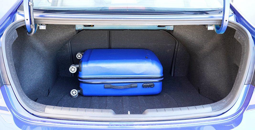 Hyundai Elantra – bagażnik