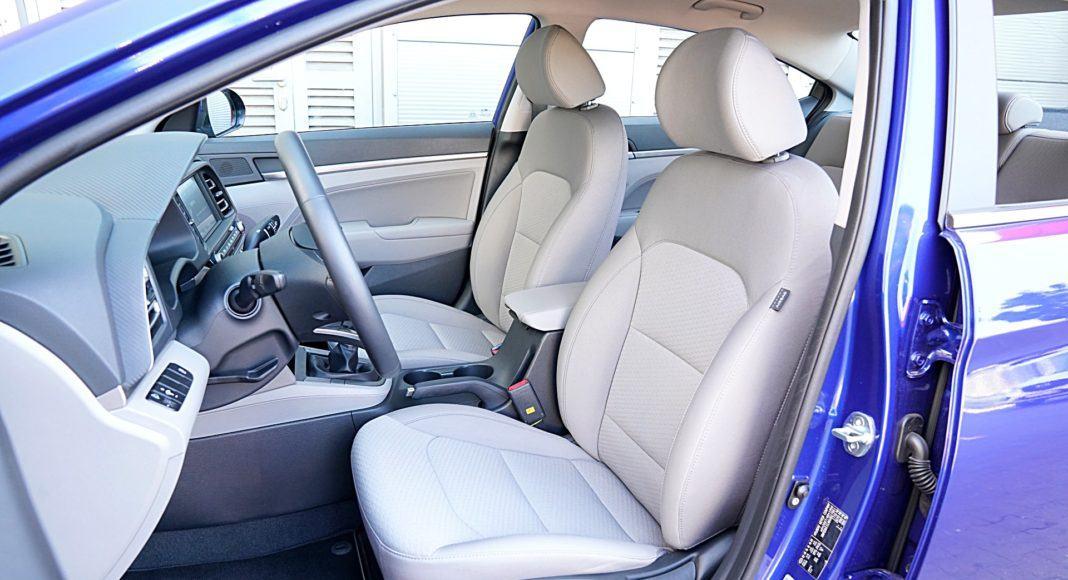 Hyundai Elantra – fotele